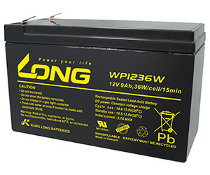 WP1236W (12V - 9 Ah)