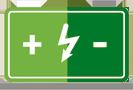 Icone Bateria Descarte Ecológico